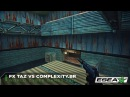 TaZ vs compLexity Brazil Pistol Round Ace on de_nuke