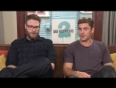 Cattivi Vicini 2- BadTaste.it intervista Seth Rogen e Zac Efron