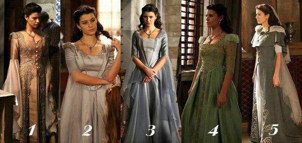 Великолепный век кёсем платья