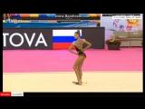Александра Солдатова - булавы (многоборье) // КМ Гвадалахара 2016