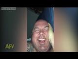 Жена сняла, как муж спит и ржёт во сне / Wife Catches Husband Giggling in his Sleep
