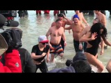 Watch Lady Gaga and Taylor Kinney takes the Chicago Polar Plunge 2016