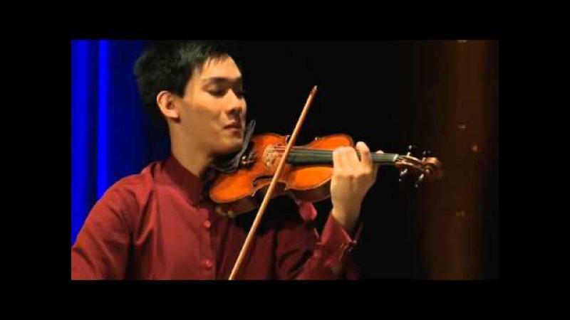Richard Lin | Beethoven | Violin Sonata No. 3, Op. 12 | 2015 Joseph Joachim Violin Comp Hannover