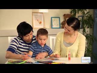 Урок 19. Развивающие игры. Рисуем и пишем открытку.