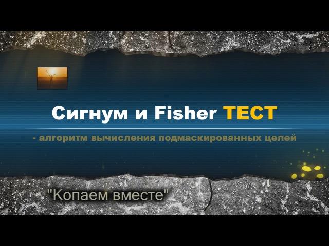 Тест металлоискателей на подмаскированные цели на примере Сигнум МФТ 7272М и Fisher F75