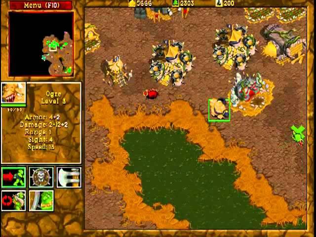 Warcraft 2: Beyond The Dark Portal. Прохождение с Miker'ом (часть 1)