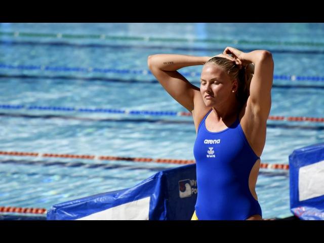 FluTV - Equipe sueca de natação treina nas Laranjeiras