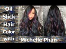 Oil Slick Hair Color Tutorial with Michelle Phan