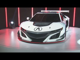 New Sensation Acura NSX GT3 -  World debute -  New York Auto Show 2016