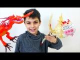 Видео для детей. ОПЕРАЦИЯ для Дракона! Игрушки из мультика Как приучить дракона? Игры для мальчиков