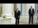 Президент Владимир Путин в Кремле вручил премии молодым учёным - Первый канал