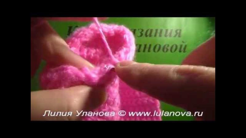 Кофточка Нежность - 4 часть - Crochet children's sweaters - вязание рукава и воротника