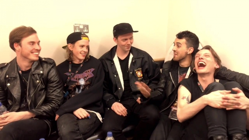 Counterfeit candid video with Jamie Campbell Bower - Journo Jen Thomas
