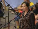 Светлана из Горловки поёт песню»Детский лагерь Саласпилс.06.05.2012