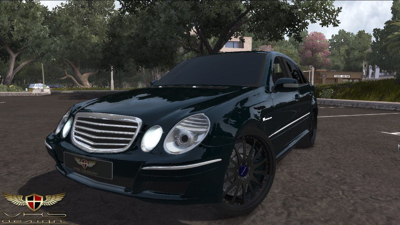 Released vrs design mercedes benz e55 amg w211 for Mercedes benz design your own