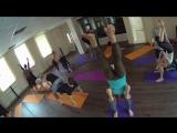 Акро-йога в Йошкар-Оле. Часть семинара