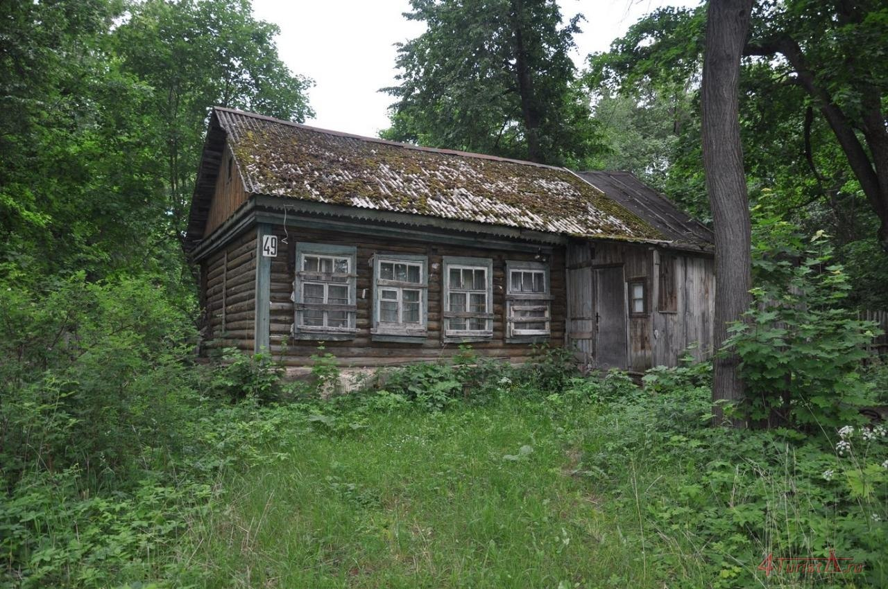 Фото старых домов в лесу 6