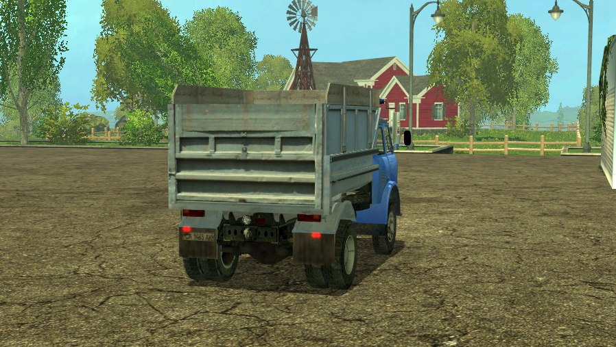 МАЗ 500 для Farming Simulator 2015 - Скриншот 3