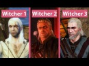 Witcher Evolution – The Witcher EE vs. The Witcher 2 EE vs. The Witcher 3 Graphics Comparison