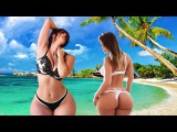 На пляже девушки в бикини блистают в микро или в мини. (юклашев-ве.рф)