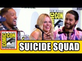 SUICIDE SQUAD Comic Con Panel - Margot Robbie, Will Smith, Jared Leto