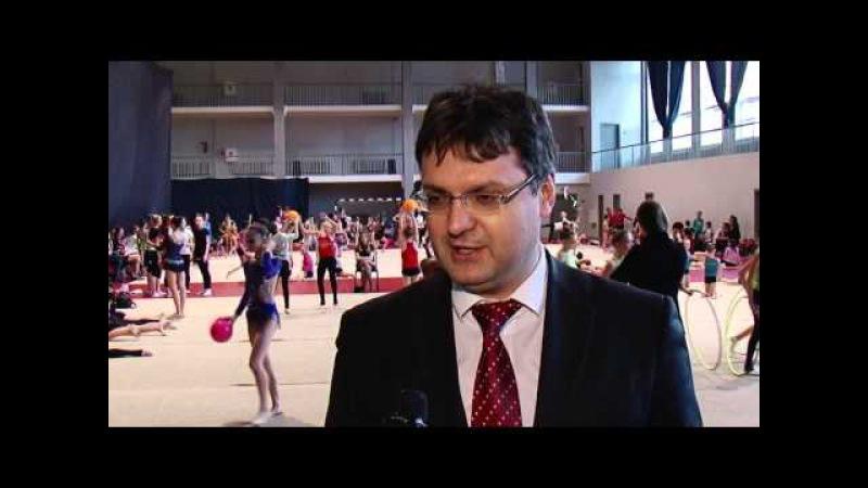 Кстовская домоуправляющая компания поддержала турнир по художественной гимнастике