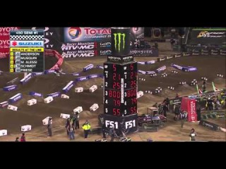AMA Supercross 2016 Anaheim 2 Full Part