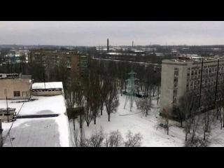 На юго-востоке Украины около одного из КПП на мине подорвался микроавтобус
