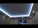 Ремонт квартир СПб. Как сделать  потолочный короб с подсветкой своими руками. ( Н ...