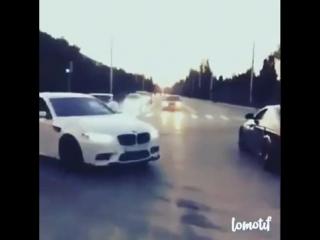 BMW M5 F10 _ Дрифт _ Mercedes-Benz AMG