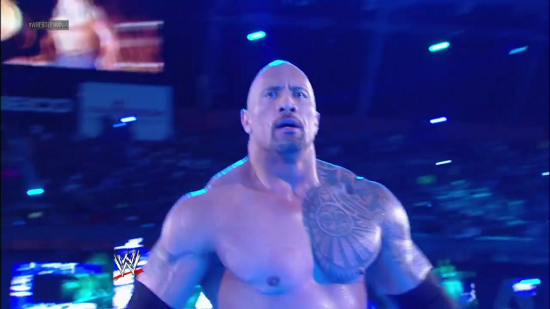 The Rock vs. John Cena - WrestleMania 28