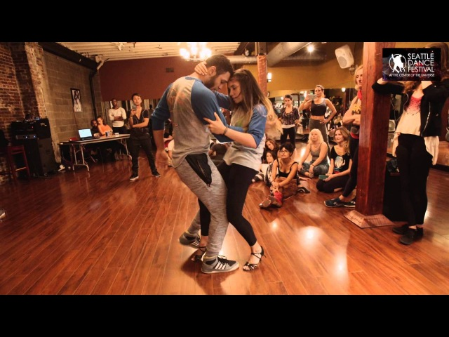 Бразильский Зук (ZOUK) - William and Paloma - Dance Festival at the Center of the Universe 2015 - Zouk Demo 2