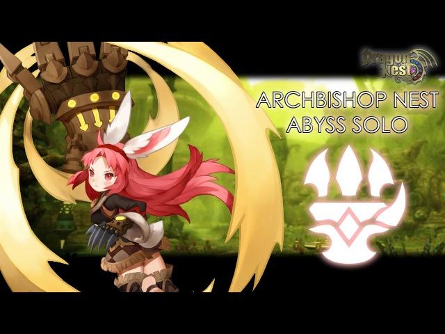 [Dragon Nest] Ruina lv90 Archbishop Abyss Solo