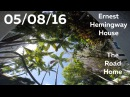 Ernest Hemingway House, Evening Chat with Connor, The Road Home - 05/08/16 - Huntley Brothers