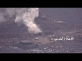 Saudi Abrams,Humvee &4x4 Army pick up,in one go destroyed by Houthis kornet ATGM- Najran 3072016