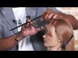 How To Cut a Fringe with Reverse Graduation