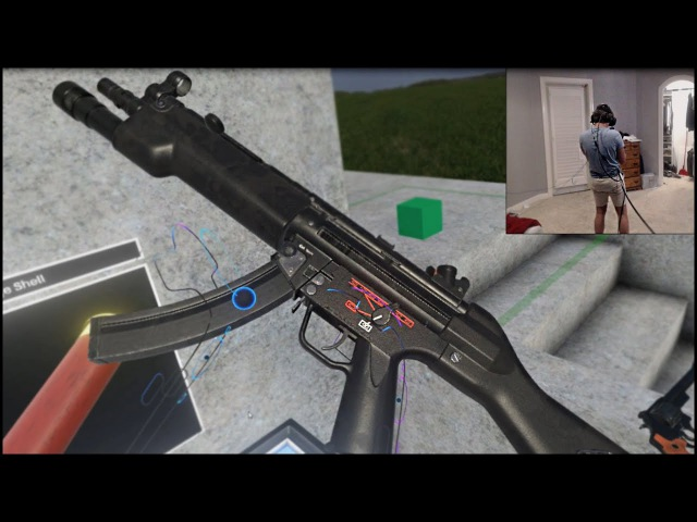 GUNS IN VIRTUAL REALITY - Hot Dogs Horseshoes Hand Grenades HTC Vive VR Gameplay