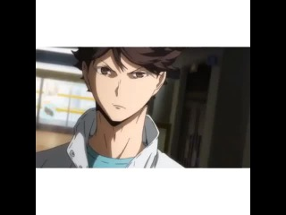 AU: Oikawa refuses for the last time to come to Shiratorizawa, eventually Ushijima goes insane and bombs the school.
