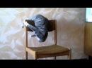Кот акробат. Бешеный кот Семен Семеныч. А ваш кот умеет такое Cat Attacks Chair
