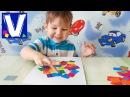 👦 Поделки для детей Аппликация из бумаги для самых маленьких Развивающее видео для детей