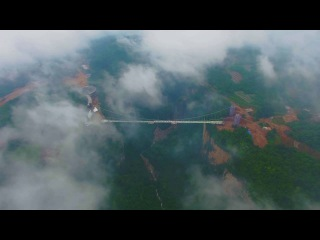 The longest and highest Glass Bridge in the world