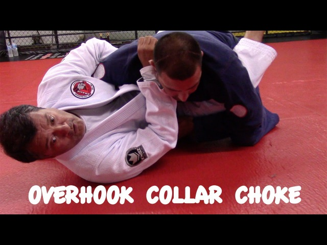 CLOSED GUARD OVERHOOK Collar Choke with Master Luiz Palhares