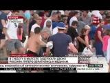 Драка русских и английских футбольных фанатов после матча Россия-Англия на Евро-2016 в Марселе