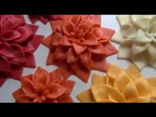(ТОРТ-РЕЦЕПТ-VK) Шикарные цветы из мастики_ простой пошаговый мастер класс лепка из мастики