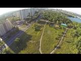 Парк Северное Тушино. Вид с воздуха.