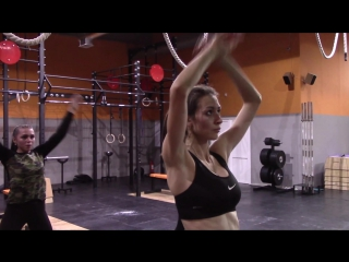CrossFit First Workout Girls first time