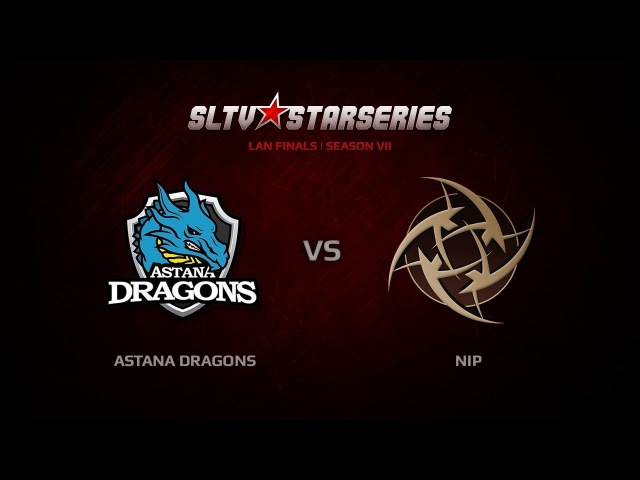 CS GO SLTV S7 Finals Astana Dragons vs NiP Game 3