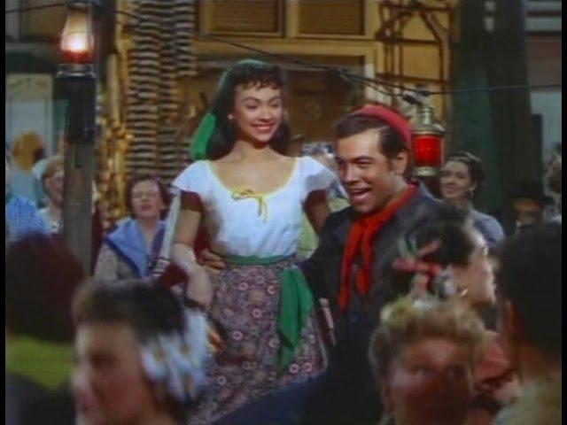 Mario Lanza sings Tina-Lina (with a young and cute Rita Moreno)