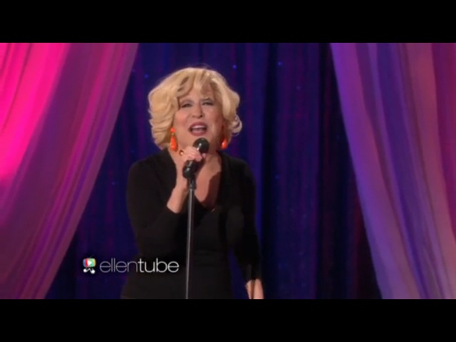 Бетт Мидлер / Bette Midler Performs 'Be My Baby 11 04 2015