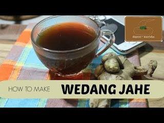 Dapoer Mariska - Resep Wedang Jahe | Indonesia Ginger Tea Recipe